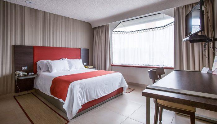 Habitación Suite Sencilla Hotel Puente Real Puebla