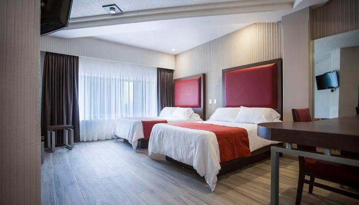 Habitación Suite Doble Puente Hotel Puente Real Puebla